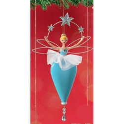 Ornamente de brad Zana balerina bleu