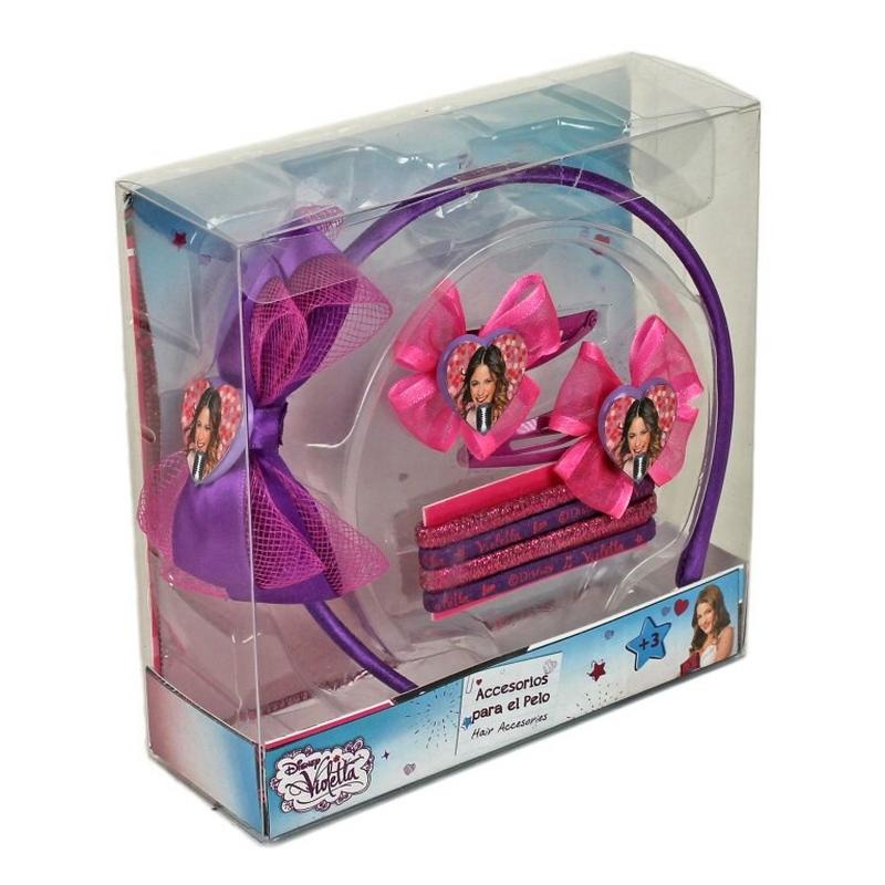 Set accesorii pentru par Violetta Love
