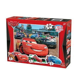 Puzzle 4 in 1 profilat Cars (4,6,9,20 piese)