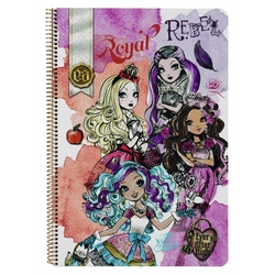 Caiet cu spira A4-80 de file Ever After High