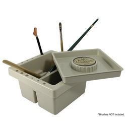 Recipient pentru curatare si depoziare pensule pictura