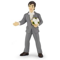 Figurina Papo - Mire cu buchet de flori