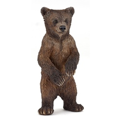 Pui urs Grizzly - Figurina Papo