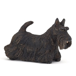 Figurina Papo -Catel Scottish Terrier negru