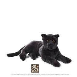 Jucarie din plus National Geographic Pantera neagra 65 cm