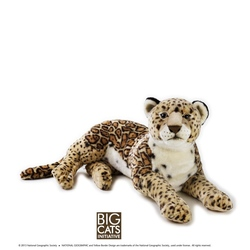 Jucarie din plus National Geographic Jaguar mare 65 cm