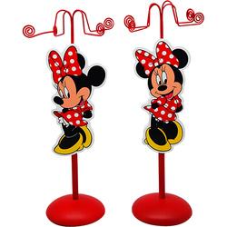 Suport rosu pentru bijuterii Minnie Mouse