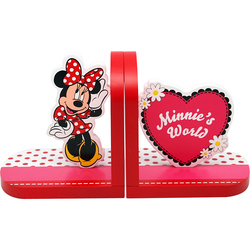 Suport de carti rosu Minnie Mouse