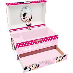 Caseta muzicala cu sertare Minnie Mouse