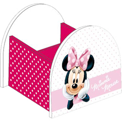 Suport mare din lemn roz Minnie Mouse