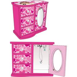 Caseta bijuterii cu trei sertare Disney Violetta