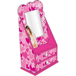 Caseta bijuterii cu oglinda Disney Violetta