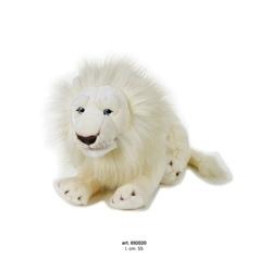 Jucarie din plus Leu alb mare 55 cm