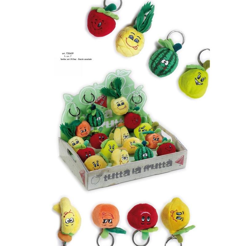 Breloc cu fructe 7 cm