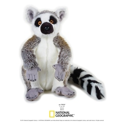 Jucarie din plus National Geographic Lemur 30 cm
