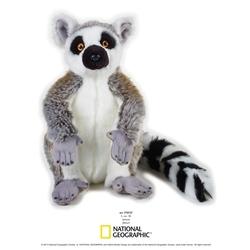 Jucarie din plus National Geographic Lemur 30 cm