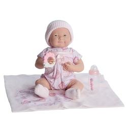 Bebelus nou nascut fetita cu jucarie si accesorii