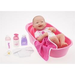 Papusa bebelus cu set de baie