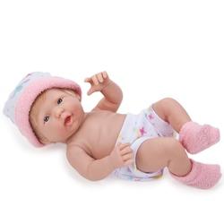 Jucarie bebelus cu caciulita roz