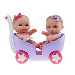 Bebelusi gemeni in carucior