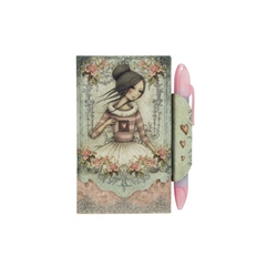 Mini agenda cu magnet si pix Eclectic™The Secret