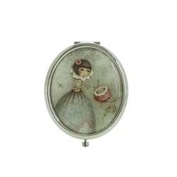 Oglinda ovala in cutie Mirabelle Curiosity