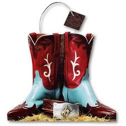 Punga de hartie-In forma de cizme cowboy