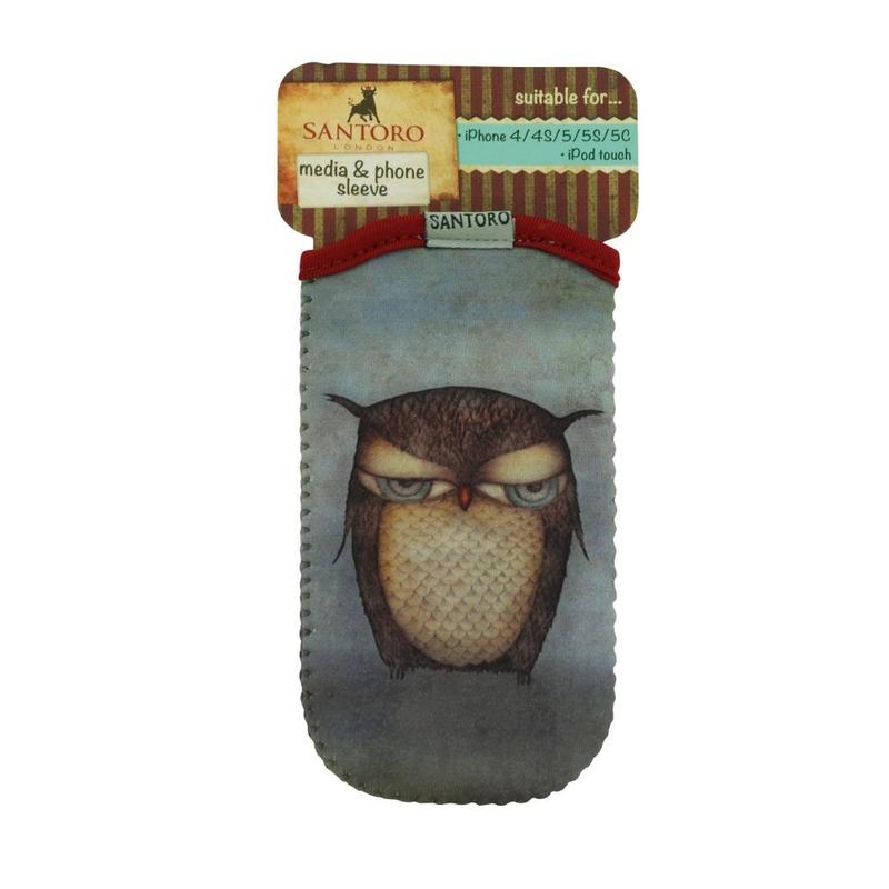 Husa telefon iPod/iPhone Eclectic™Grumpy Owl