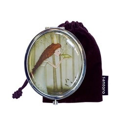 Oglinda ovala in cutie Eclectic Frog Prince
