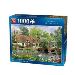 Puzzle 1000 piese April Cottage