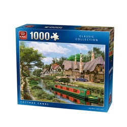 Puzzle 1000 piese Cottage Canal