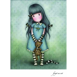 Felicitare Gorjuss-Forget Me Not