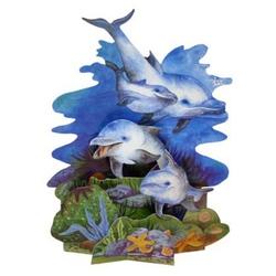 Felicitare 3D-Oceanul adanc