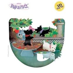 Felicitare 3D Popnrock-Catelusi Scottie