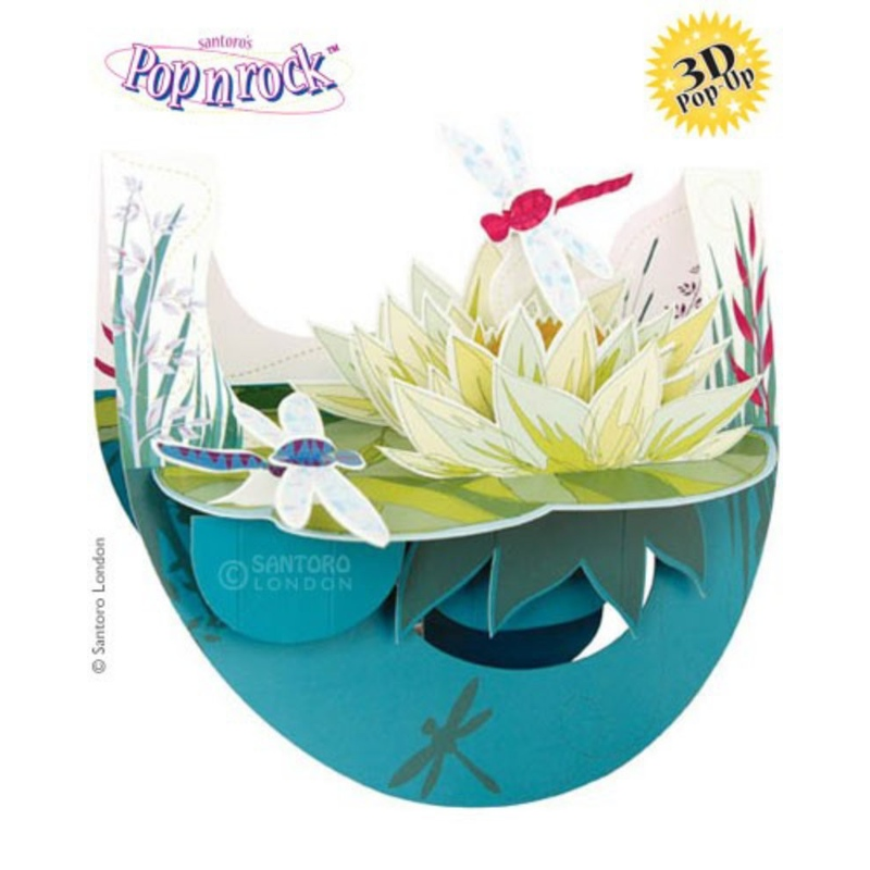 Felicitare 3D Popnrock-Libelula