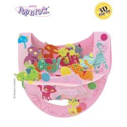 Felicitare 3D Popnrock-Pisicute jucause