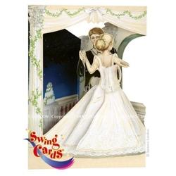 Felicitare 3D Swing Cards dinamica model-Dansul Mirilor