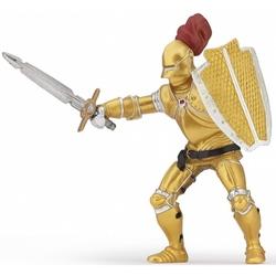 Figurina Papo - Cavaler in armura aurie