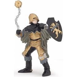 Figurina Papo - Ofiter negru din bronz cu ghioaga