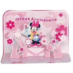 Felicitare 3D Minnie-Disney