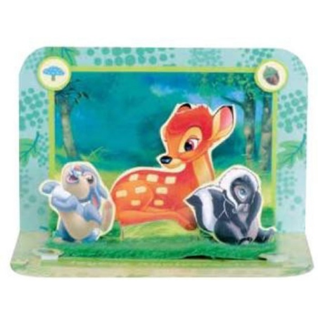 Felicitare 3D Bambi Disney