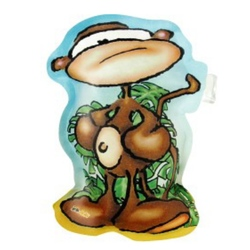 Felicitare Maimuta-gonflabila 3D
