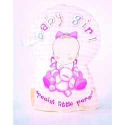 Felicitare Fetita-gonflabila 3D
