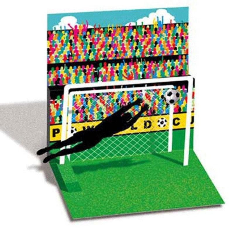 Felicitare 3D Treasure-Fotbal