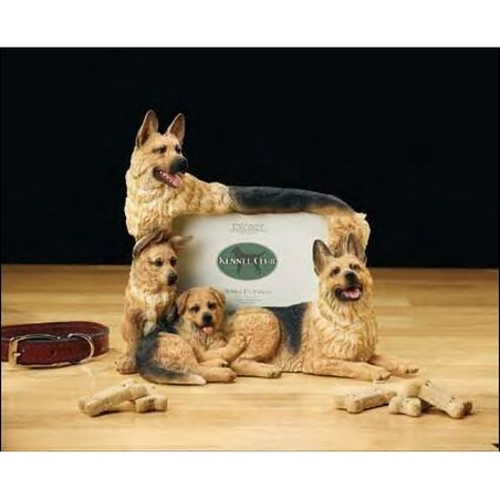 Rama foto - rasa canina German Shepherd (10.2x15.2cm)