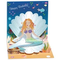 Felicitare 3D Treasure-Sirena