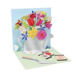 Felicitare 3D- Stropitoare. O felikcitare draguta pentru iubitorii de flori.
