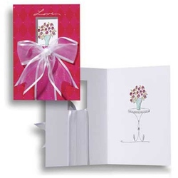 Felicitare 3D Tres Panache-Trandafiri. O felicitare draguta apreciata la nivel international.