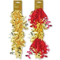 Set 3 pompoane pentru decorarea cadoului