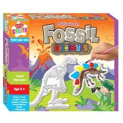 Picteaza fosile de dinozauri